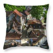 Main Street Rocamadour Throw Pillow