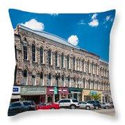 Main Street Usa Throw Pillow