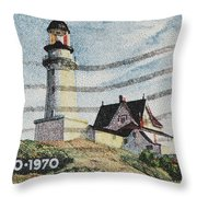 Maine 1820-1970 Throw Pillow