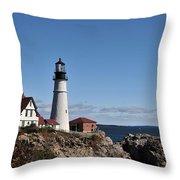 Maine 45 Throw Pillow