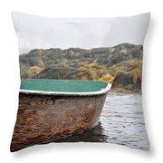 Maine Morning  3 Throw Pillow
