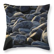 Maine Rocks 1 Throw Pillow