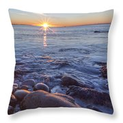 Mainly Water Throw Pillow by Jon Glaser