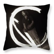 Maintain Center Throw Pillow