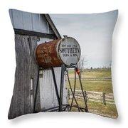 Barn - Maintenance Throw Pillow