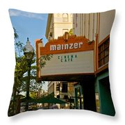 Mainzer Theater Throw Pillow