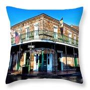 Maison Bourbon - New Orleans Throw Pillow