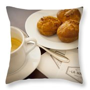 Maison Du Chou Throw Pillow
