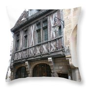 Maison Milliere - Dijon - France Throw Pillow
