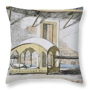 Majanah, Or Covered Reclining Throw Pillow