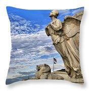 Majestic Bosom Throw Pillow