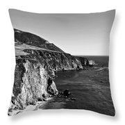 Majestic Coast Throw Pillow