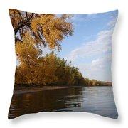 Majestic Cottonwood Throw Pillow