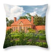 Majestic Gardens Throw Pillow
