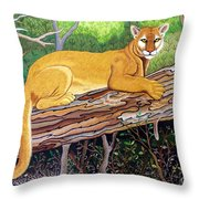 Majestic Hand Embroidery Throw Pillow