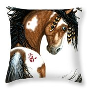 Majestic Horse #106 Throw Pillow