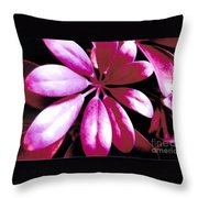 Majestic Leaves Throw Pillow
