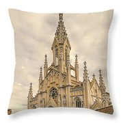 Ubate Cathedral Throw Pillow