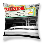 Majestic Night At The Show Throw Pillow