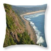 Majestic Oregon View Throw Pillow