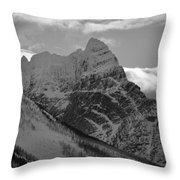 Majestic Peaks Throw Pillow