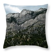 Majestic Slope Throw Pillow