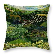 Majestic Valley Throw Pillow