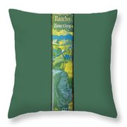 Majesty's Rancho By Zane Grey Throw Pillow