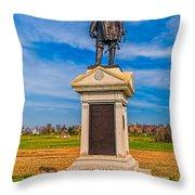 Major-general Doubleday Throw Pillow
