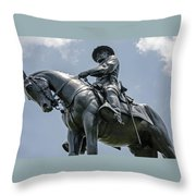 Major-general Oliver Howard  Throw Pillow