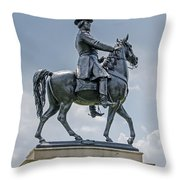 Major-general Winfield S. Hancock Throw Pillow