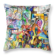 Make A Fence For The Torah 1 Throw Pillow