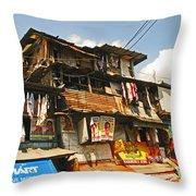 Make Do Throw Pillow by Pete Marchetto