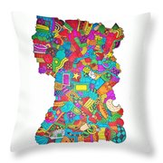 Make It End Throw Pillow