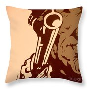 Make My Day #3 Throw Pillow