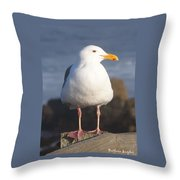 Make Sure You Get My Good Side Throw Pillow