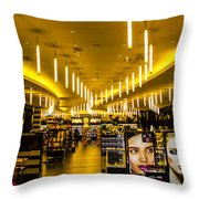 Makeup Rave Throw Pillow