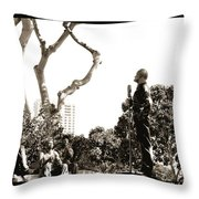 Making A Difference Throw Pillow