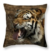 Making Faces Throw Pillow
