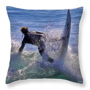 Making The Turn By Diana Sainz Throw Pillow
