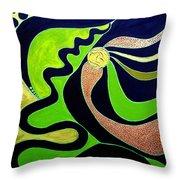 Making Waves.. Throw Pillow