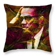 Malcolm X 20140105 Throw Pillow