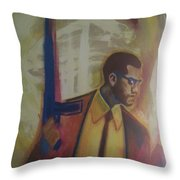 Necessary Means Of Malcolm X Throw Pillow