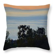 Malibu Sunrise Throw Pillow