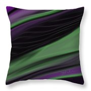 Malifescent Abstract Throw Pillow