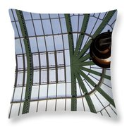 Mall Of Emirates Skylight Throw Pillow