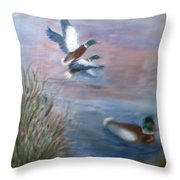 Decoy Throw Pillow