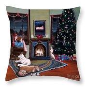 Mallory Christmas Throw Pillow