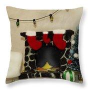 Mallow Christmas Throw Pillow