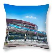 Malmo Arena 08 Throw Pillow